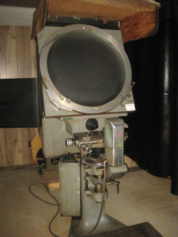 "J&L 30"" Optical Comparator"
