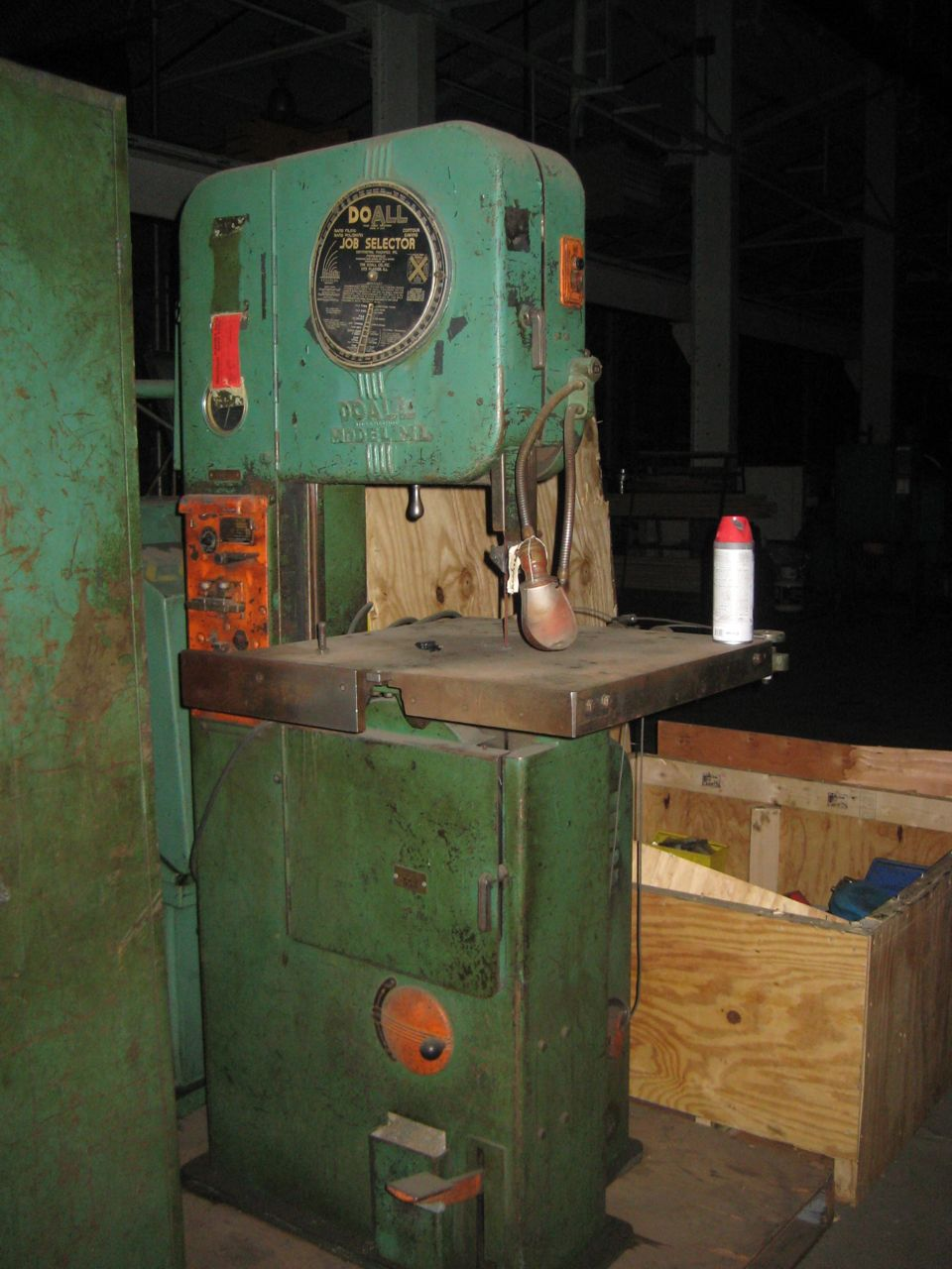 Do_All Model ML Vertical Band Saw