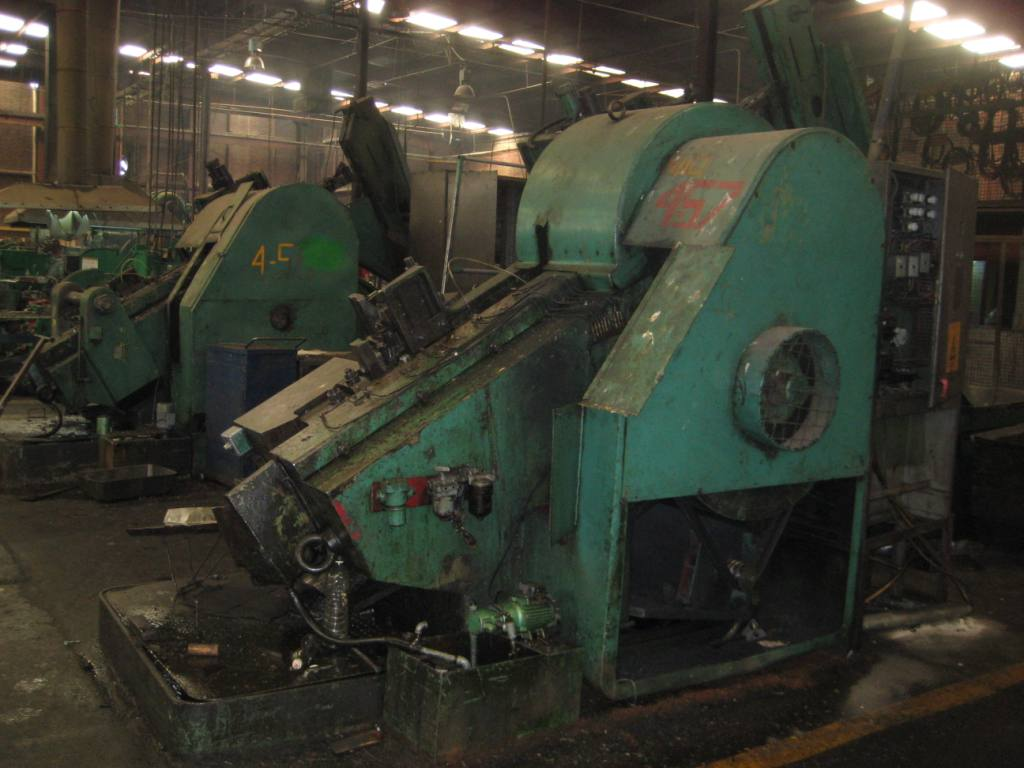 "One Used 1"" Peltzer and Ehlers Model NKW-K-24 Combi Pointing and Threading Machine"