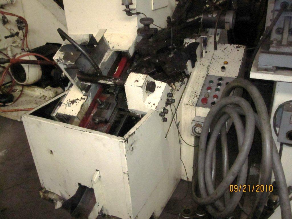 Saspi Model GV-2 High Speed Flat Die Sems Thread Roller