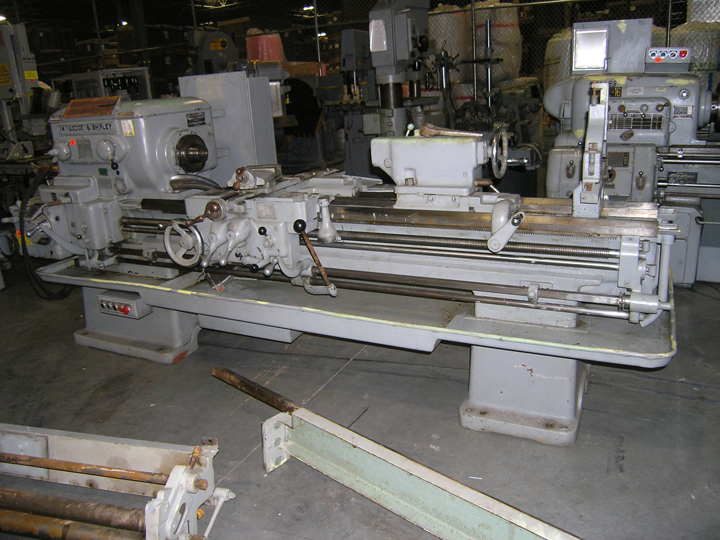 "USED, 16"" X 78"" LODGE & SHIPLEY MODEL X ENGINE LATHE"