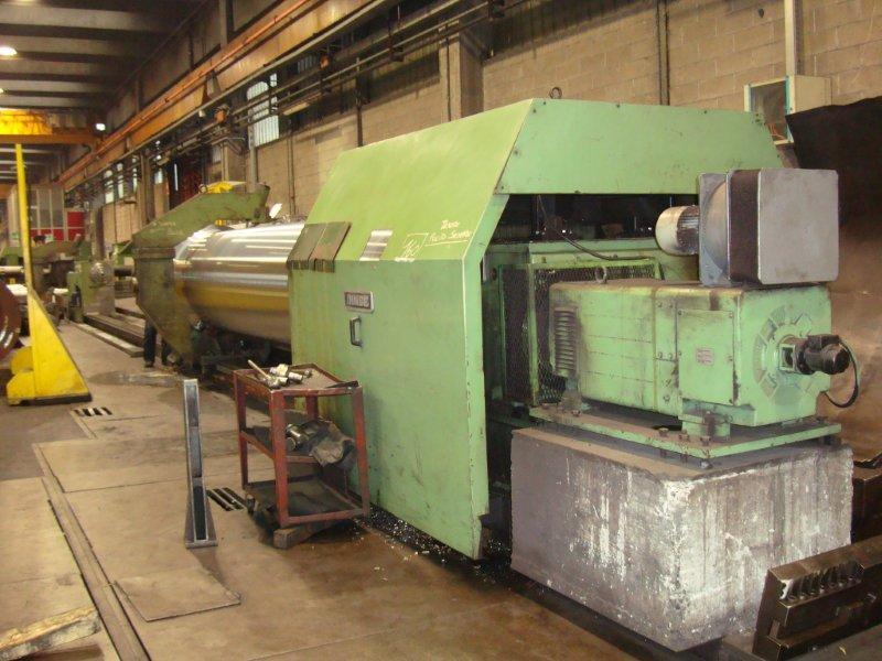 USED, INNSE MODEL TP 160 X 15000 CNC HYDROSTATIC CENTER LATHE