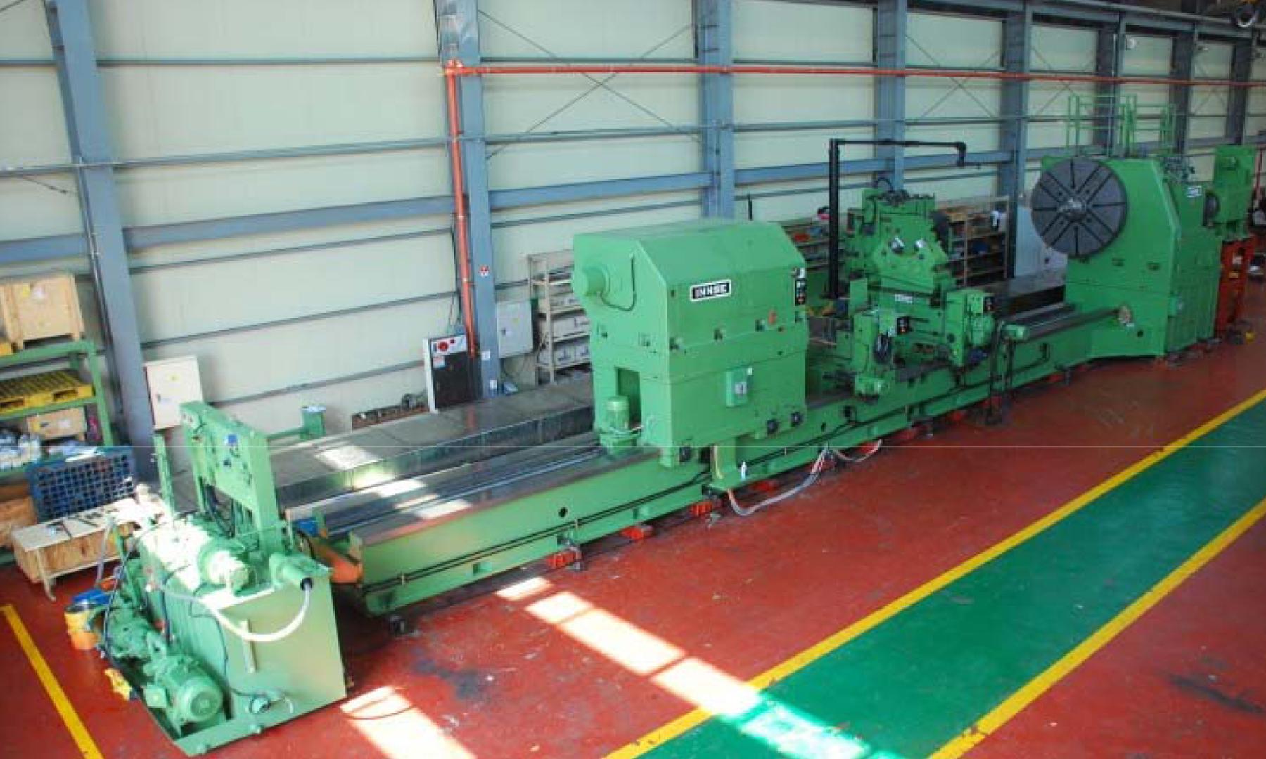 USED, INNSE CNC HORIZONTAL LATHE, MODEL D2,200 X 11-125