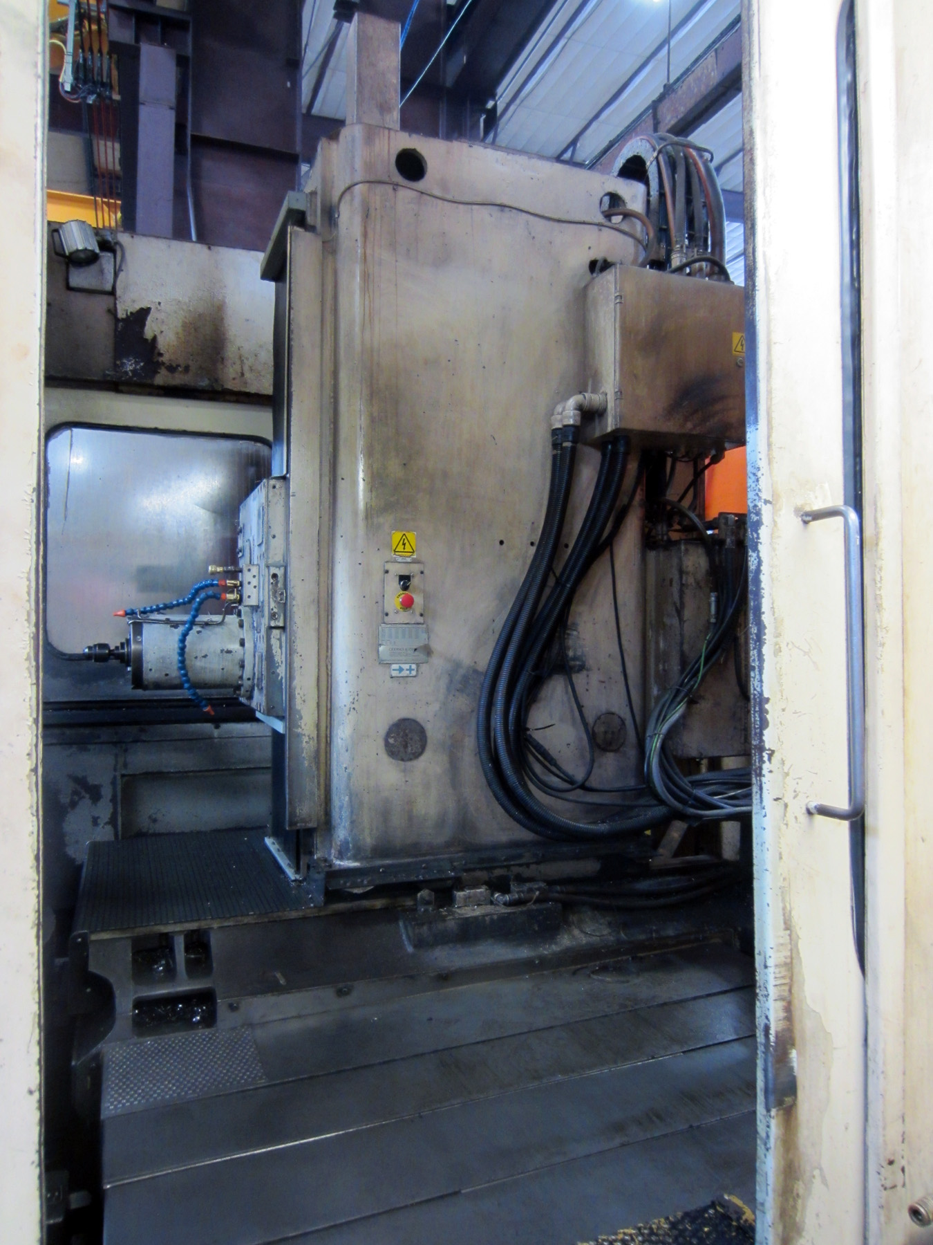 USED, GIDDINGS & LEWIS ORION PREMIER 1000 TWIN PALLET HORIZONTAL MACHINING CENTER
