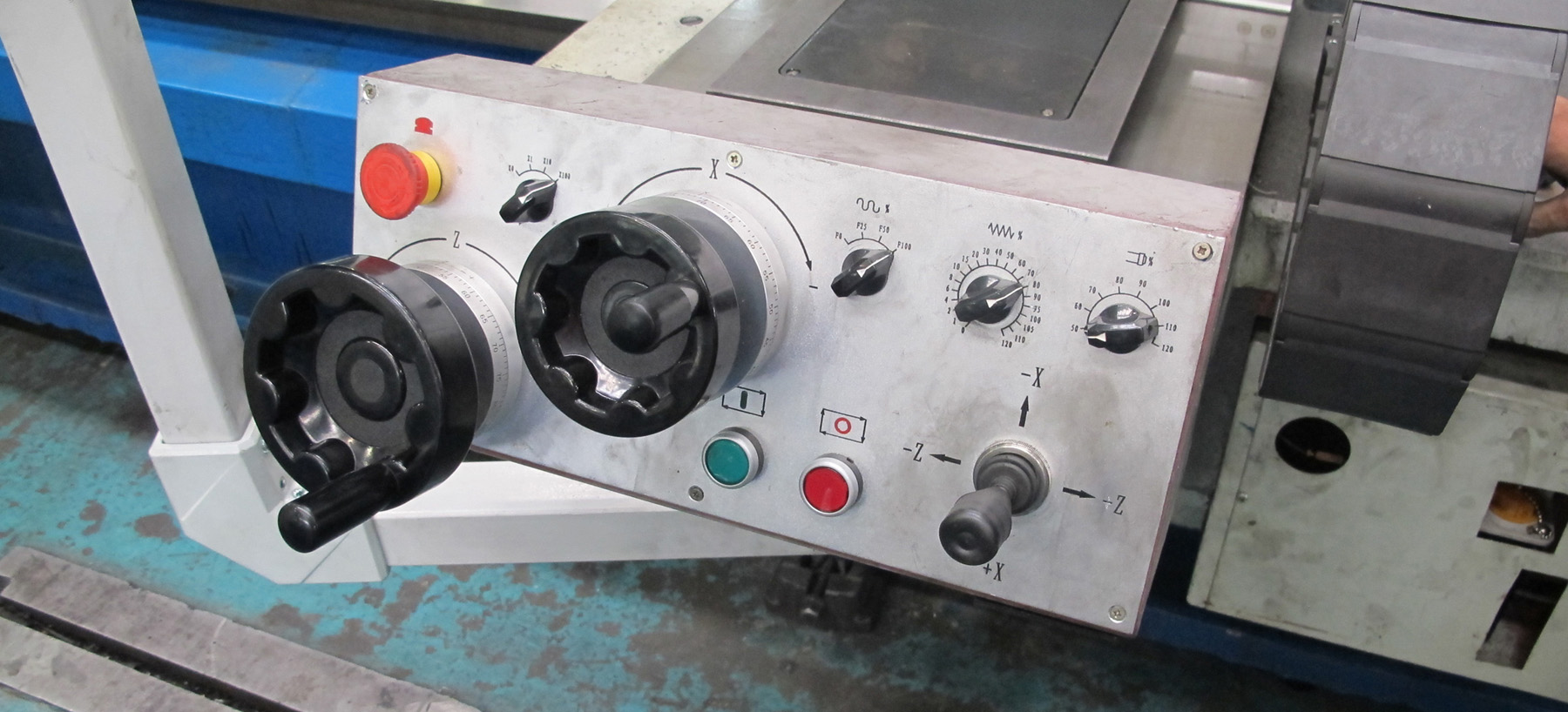"""NEW, TVAN HS36-300 SIMPLE CNC HOLLOW SPINDLE LATHE WITH 14"""" BORE"""