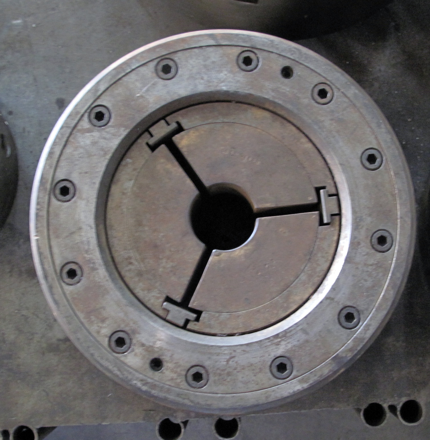 """USED, 15"""" COLLET CHUCK"""