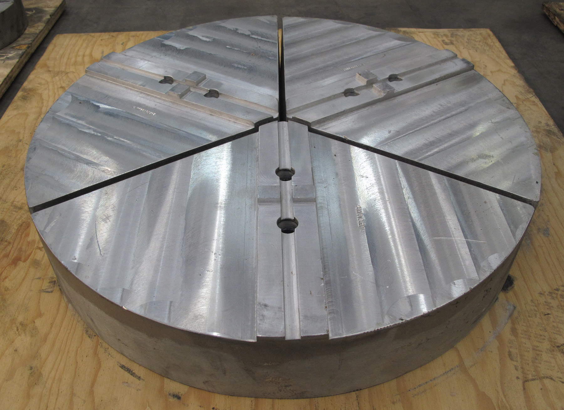 """NEW, 24"""" ALUMINUM PIE JAWS, 3 SECTIONS"""