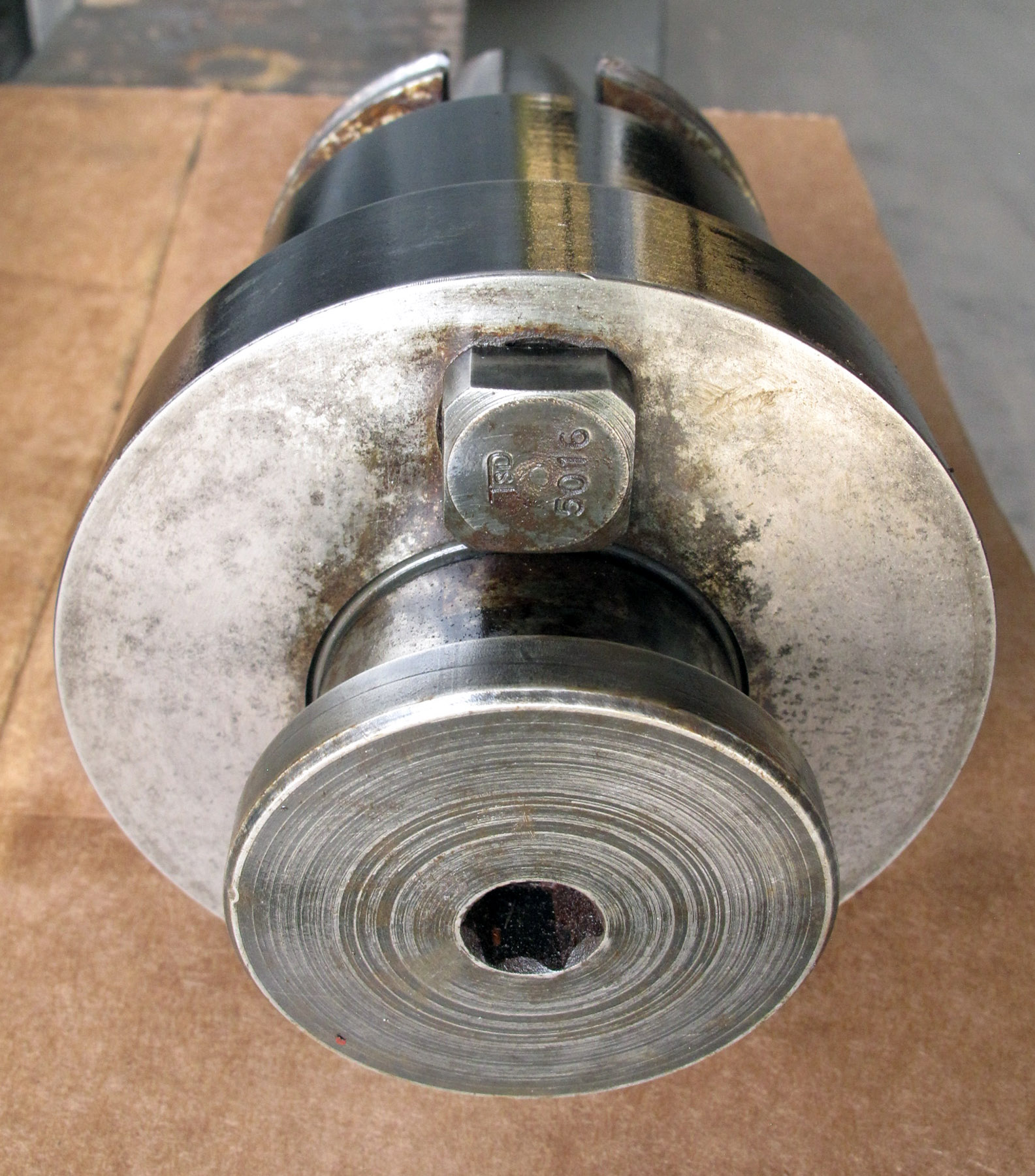 USED, FACE MILL HOLDER, 50 TAPER