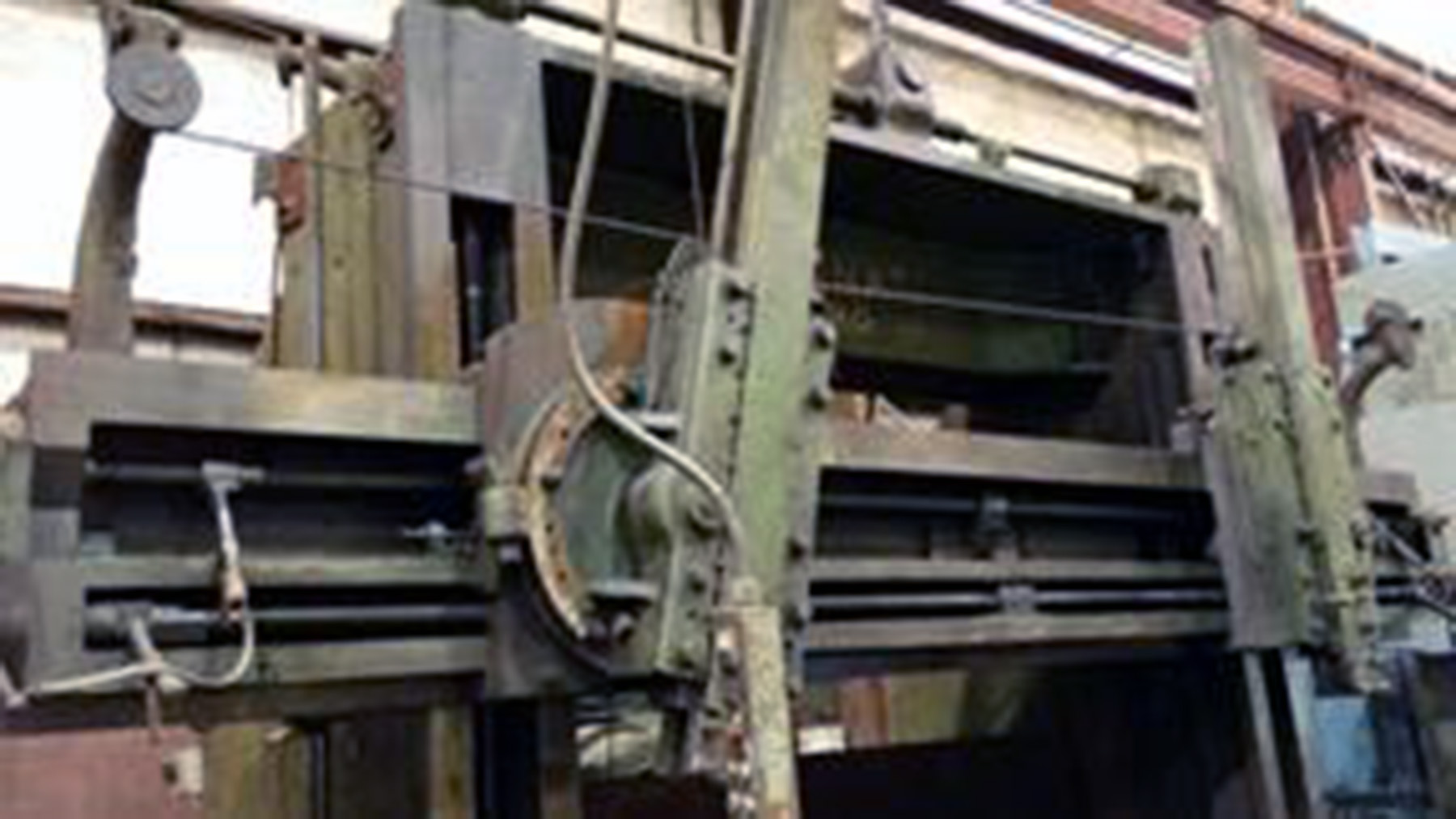 "USED, 96"" CINCINNATI HYPRO VERTICAL BORING MILL"