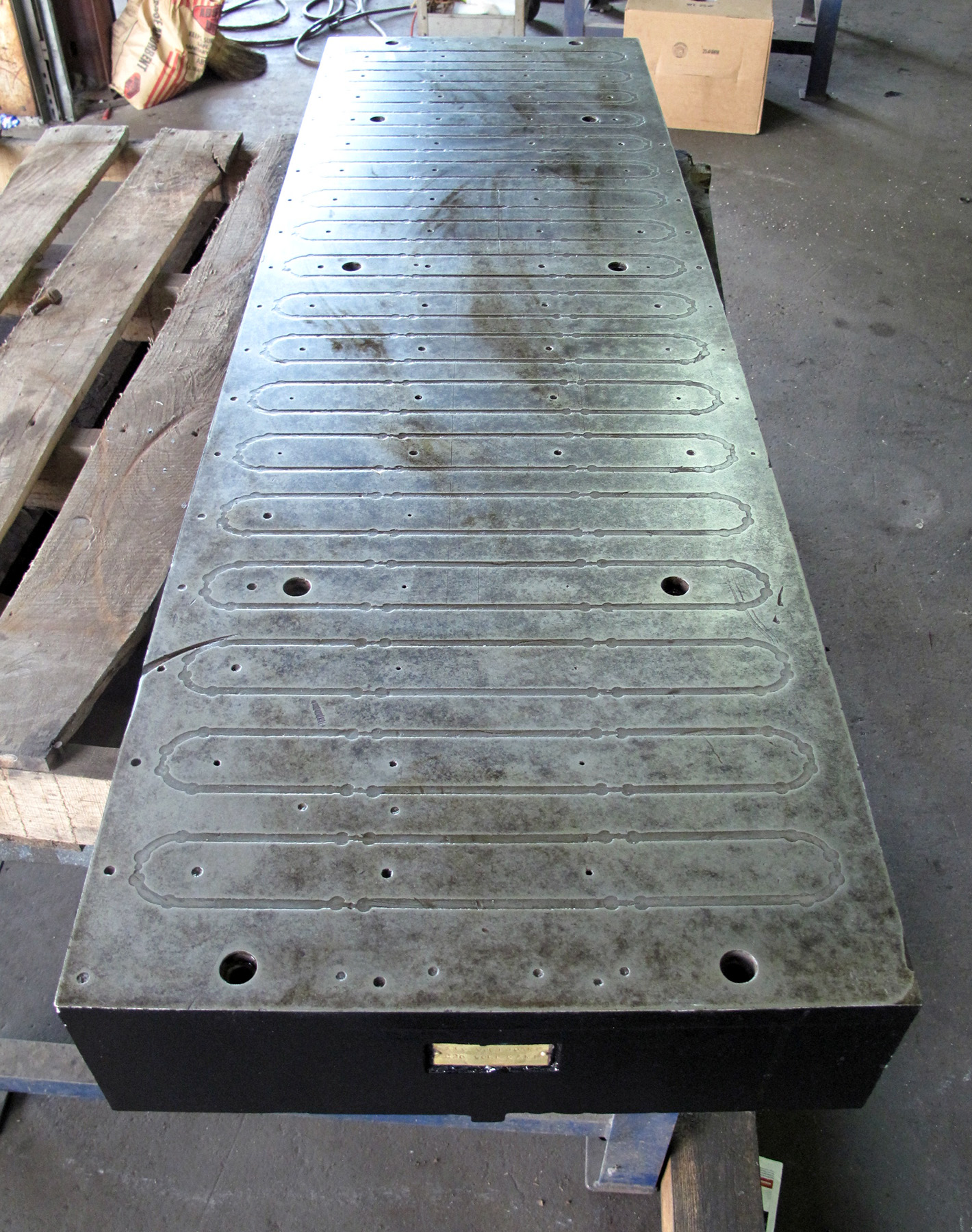 "USED, 18"" X 60"" ELECTRO-MAGNETIC CHUCK"
