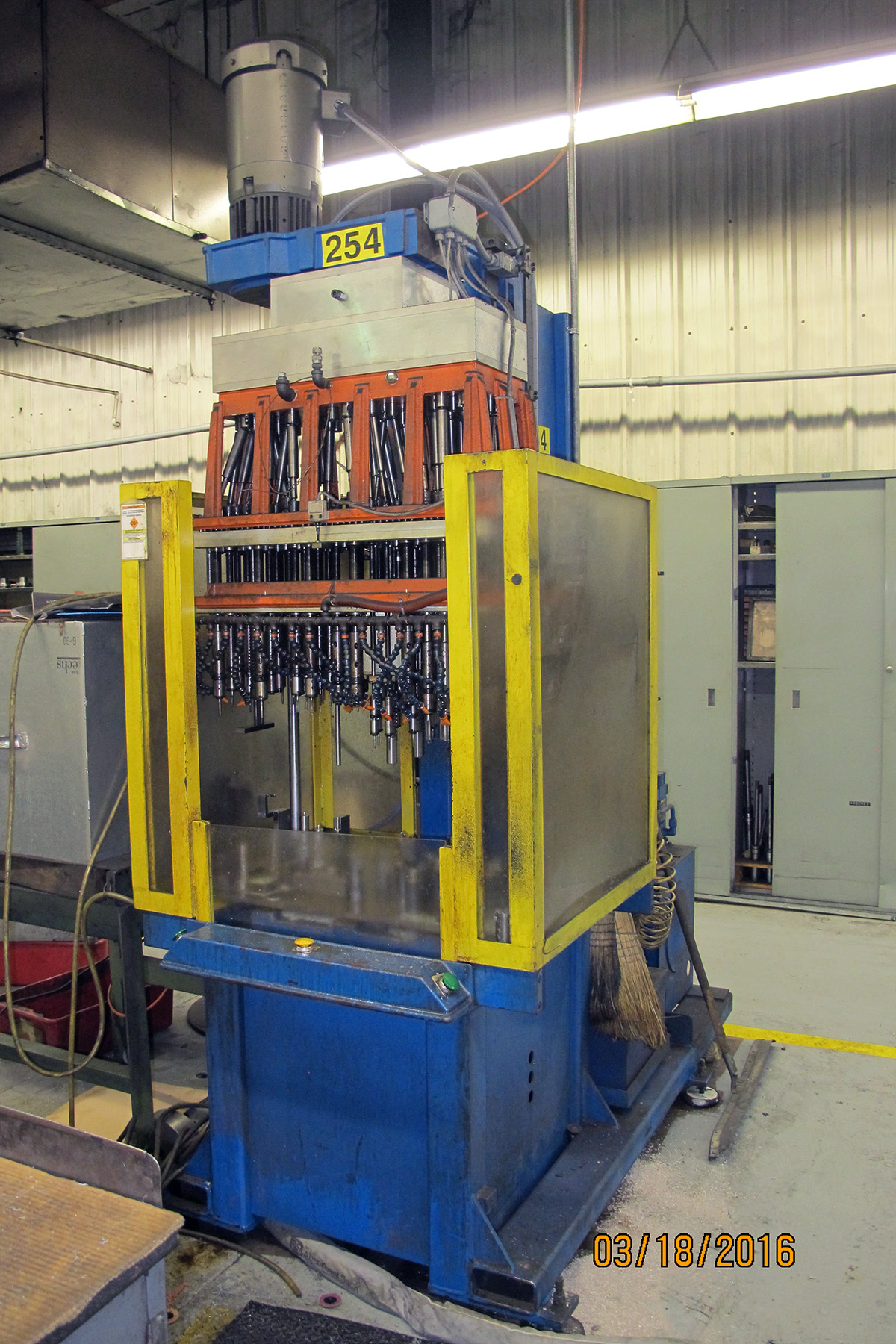 USED, 48 SPINDLE BELDEN DRILLING AND TAPPING MACHINE