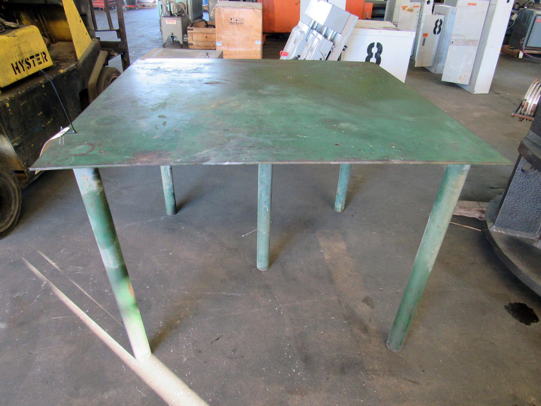 USED, METAL WORK TABLE