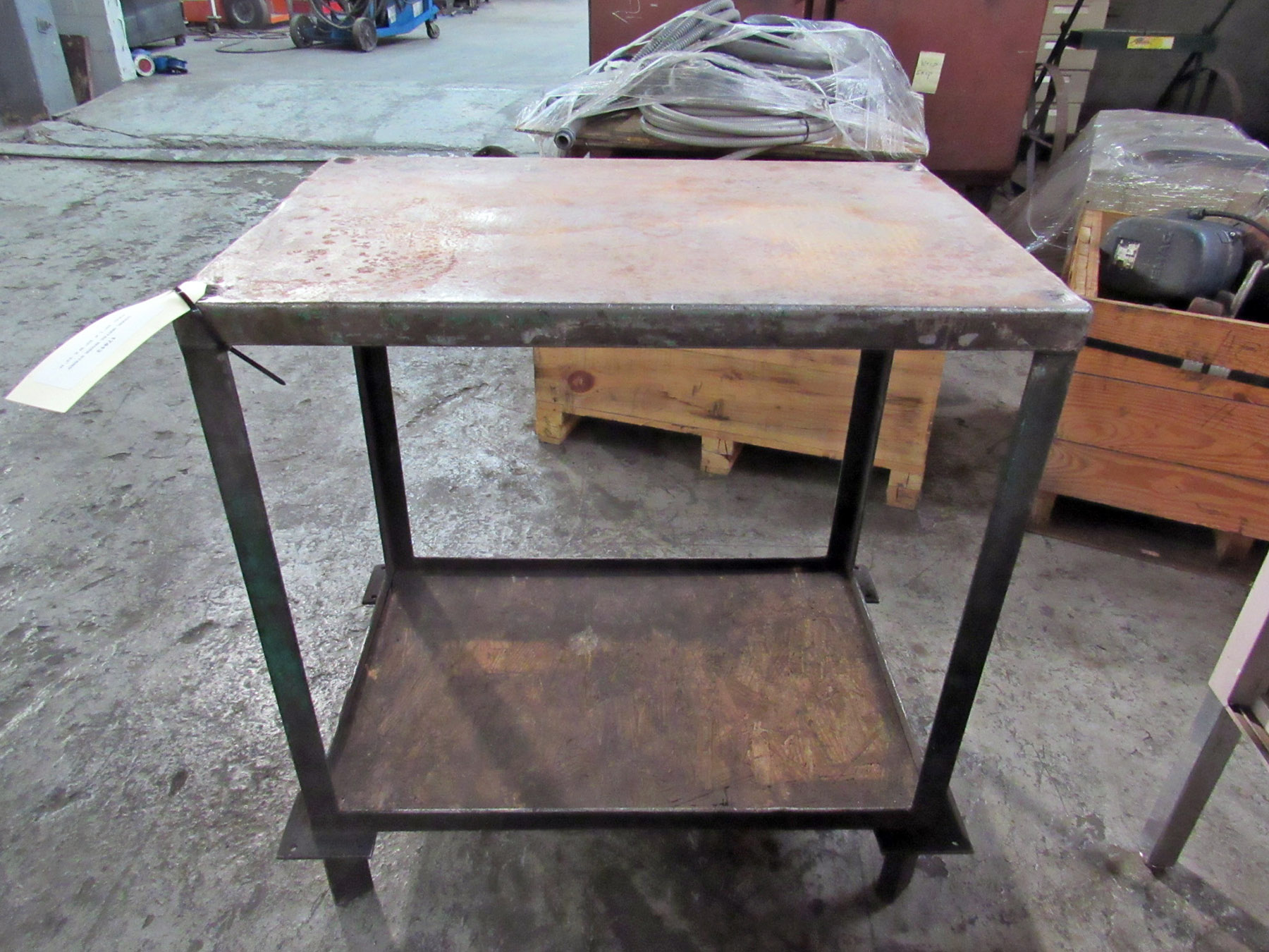 USED, METAL WORK STAND