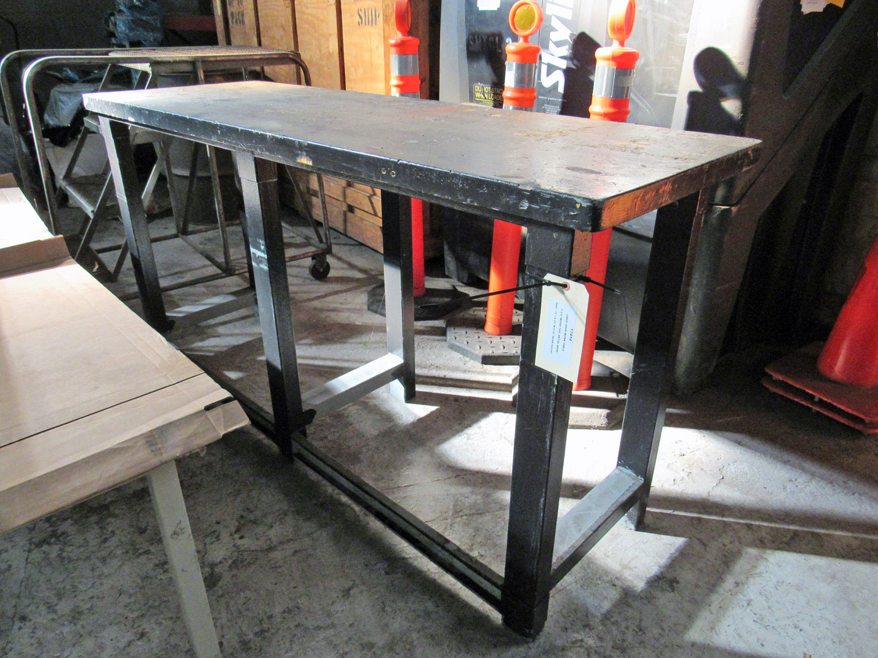 USED, SHOP WORK TABLE