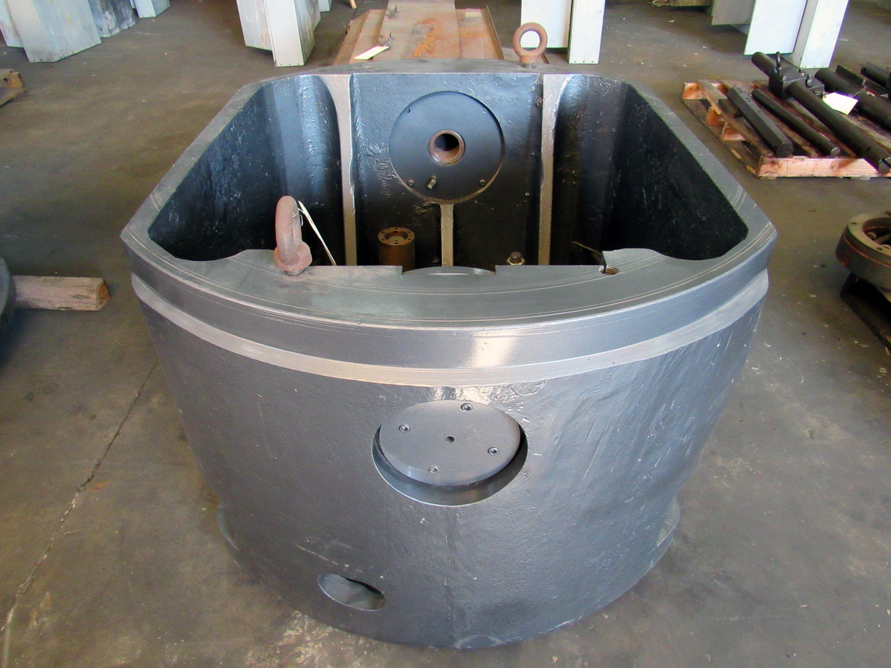 "USED, 48"" POWER INDEXING CHUCK, 36"" BETWEEN YOKES, 30"" HEIGHT"