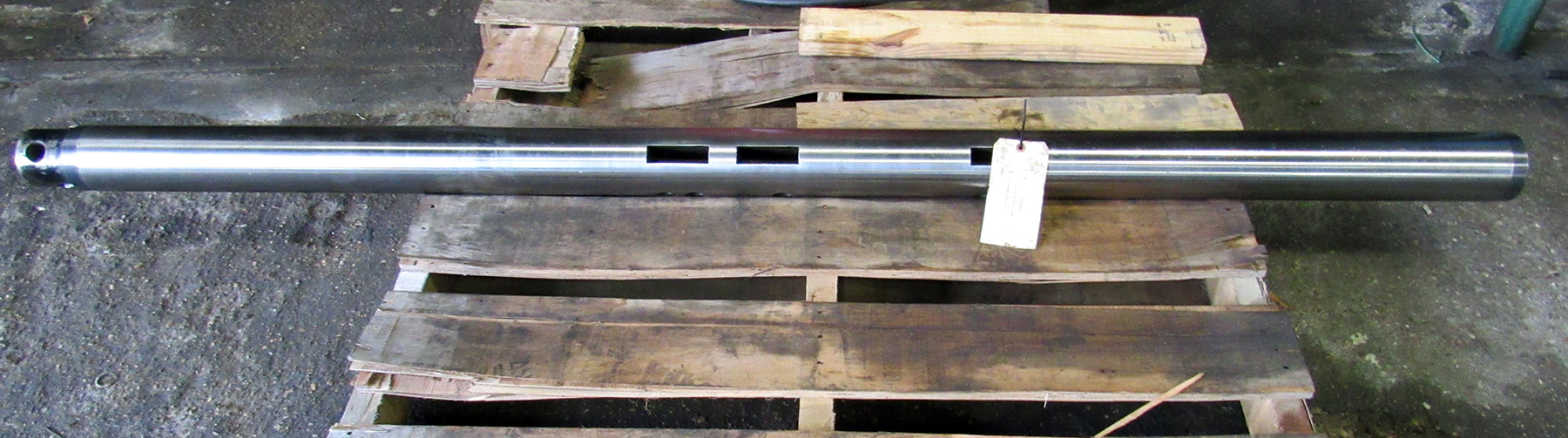 "USED, 4"" X 86-1/2"" LINE BORING BAR"