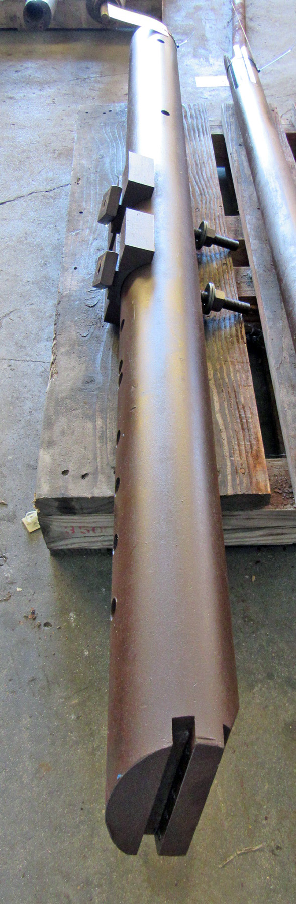 "USED, 5"" X 72"" LATHE BORING BAR"