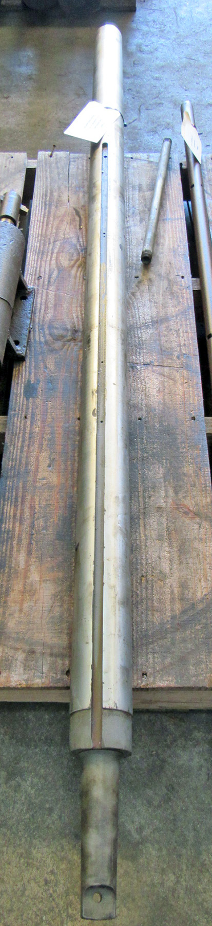 "USED, 3-1/2"" X 72"" LINE BORING BAR WITH MORSE TAPER ADAPTER"