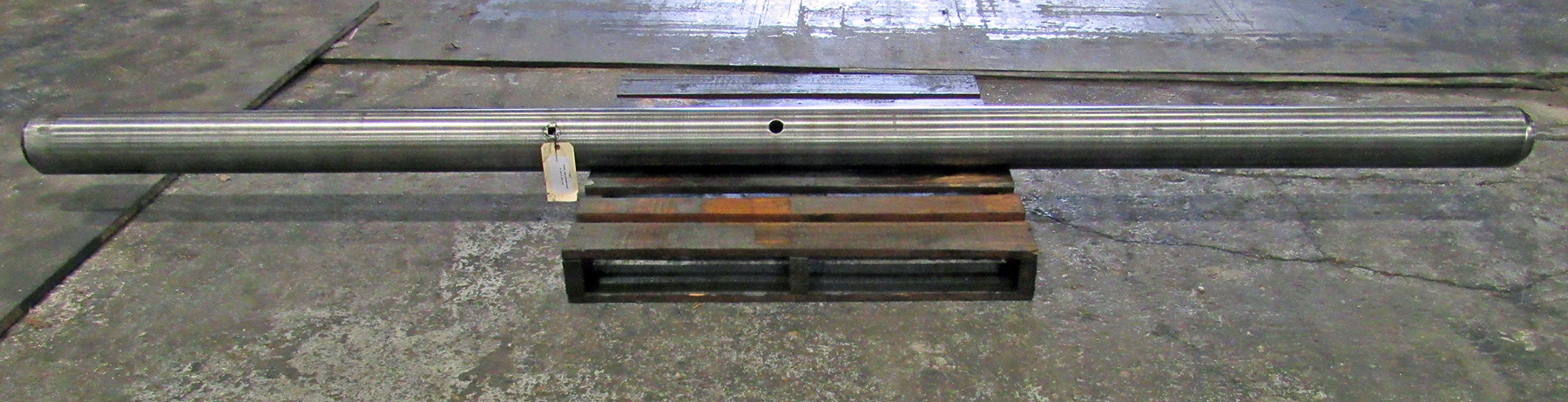 "USED, 6"" X 149"" LINE BORING BAR"