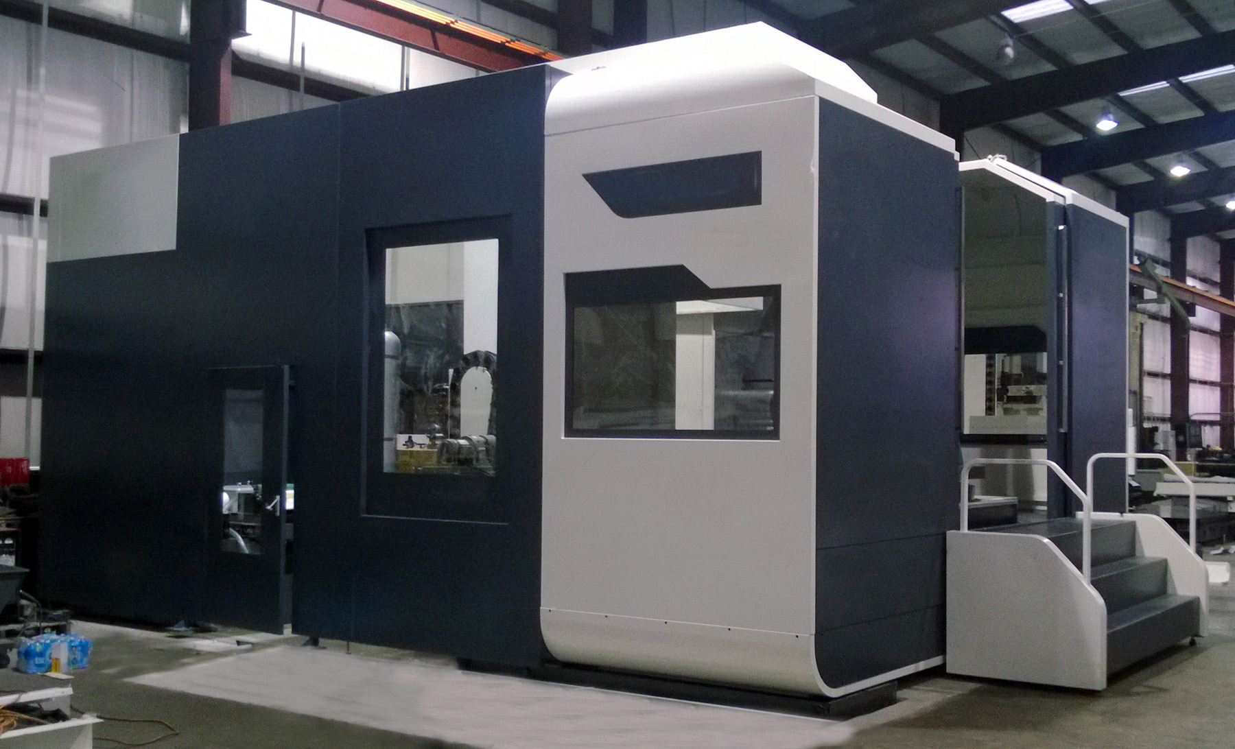 NEW, 2000 X 1400 CNC HORIZONTAL MACHINING CENTER