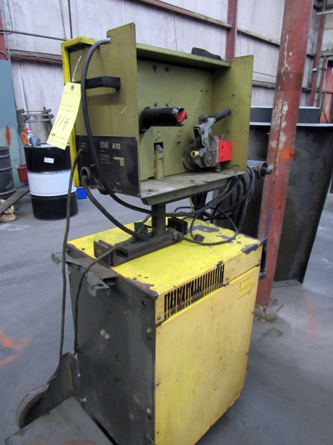 USED, ESAB WELDING RECTIFIER WITH ESAB A/O WIRE FEEDING UNIT