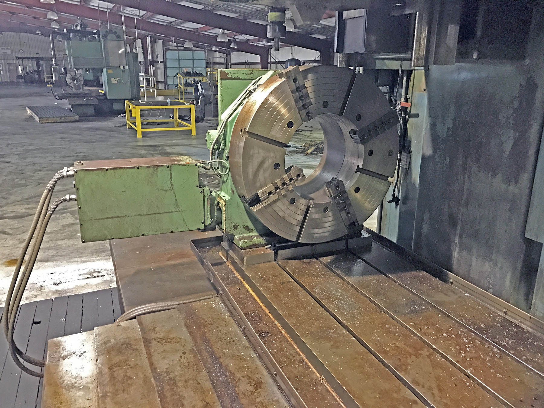 USED, TROYKE MODEL NC-30 4TH / 5TH AXIS CNC ROTARY TABLE