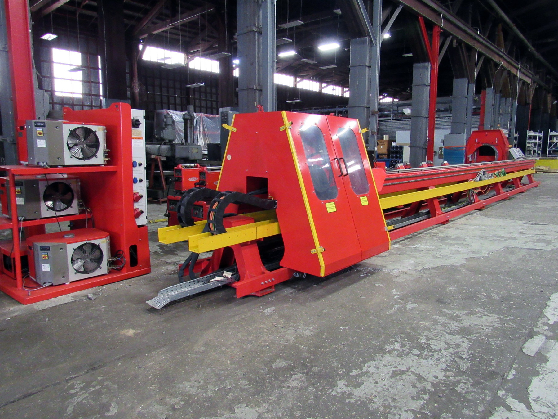 USED, FRONIUS ID PIPE CLADDING MACHINE
