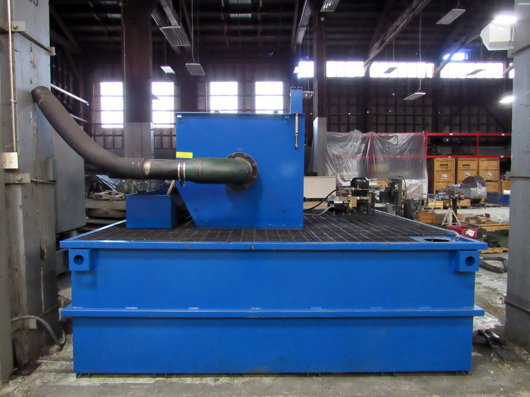 USED, 2000 GALLON MONLAN (PRAB) MODEL DF1500 DRUM TYPE COOLANT SYSTEM WITH PAPER FILTRATION SYSTEM