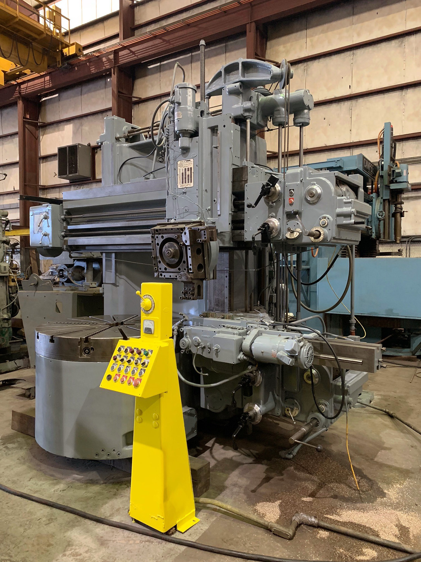 "USED, 54"" BULLARD VERTICAL TURRET LATHE"