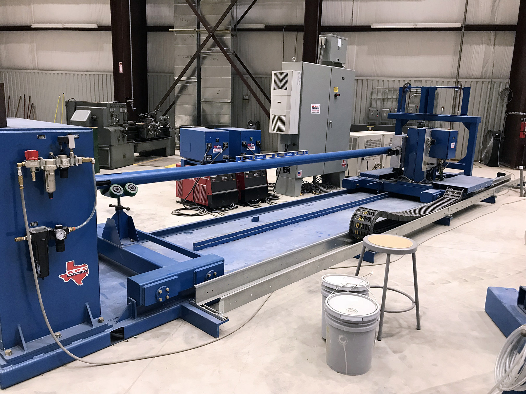 USED, ARC SPECIALTIES 10' ID PIPE CLADDING SYSTEM