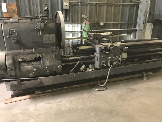 "USED, 24"" X 112"" TB ENGINE LATHE"