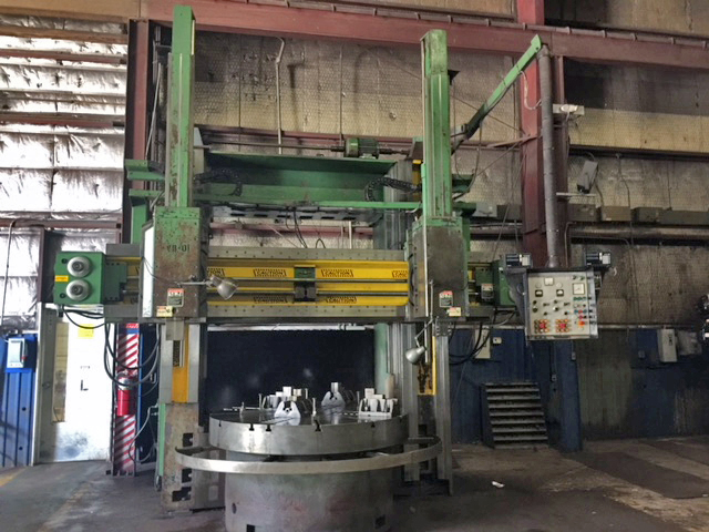 "USED, 71"" ACME (MORANDO) VERTICAL BORING MILL"