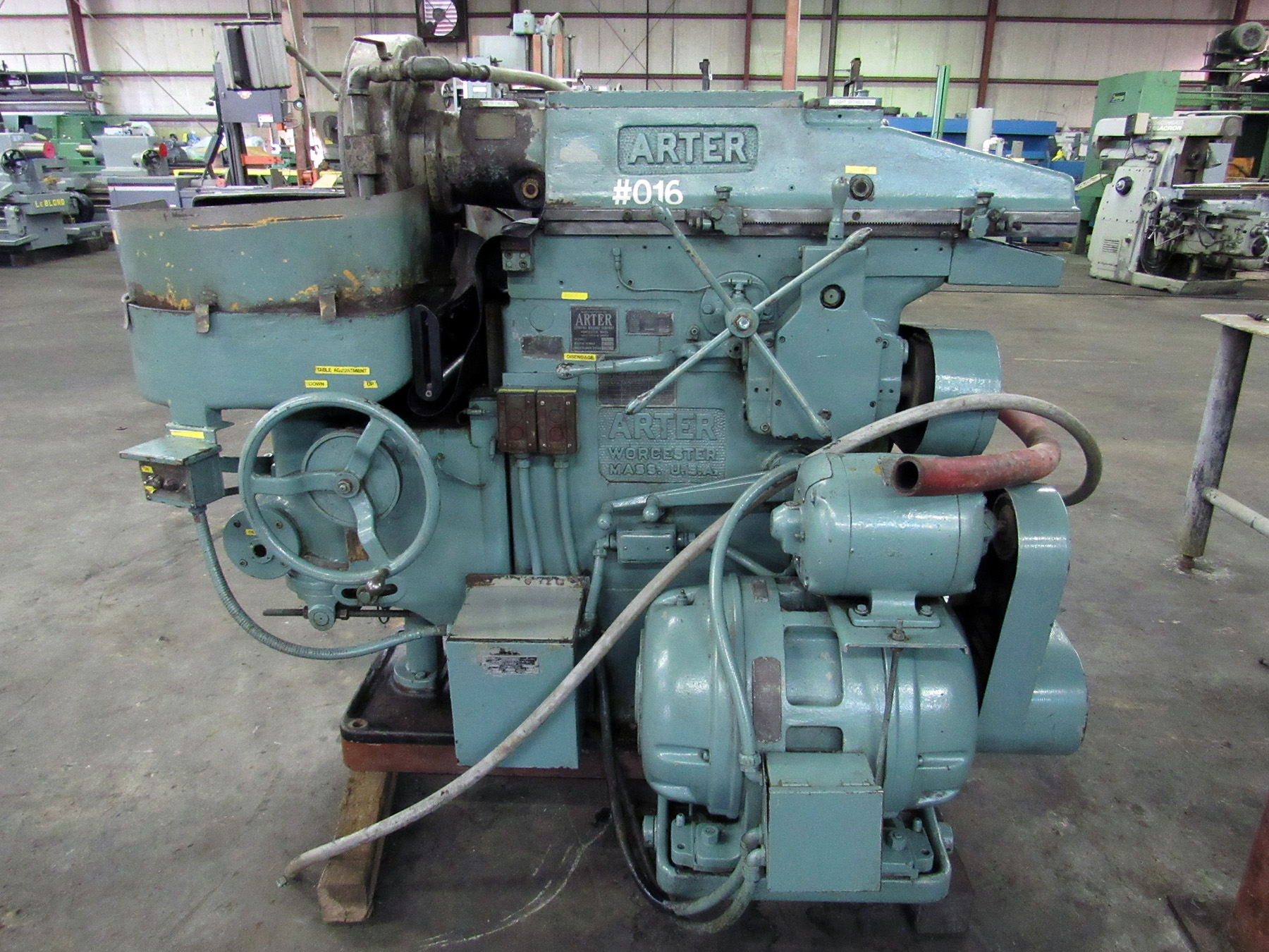 USED, ARTER MODEL A3-16 HORIZONTAL SPINDLE ROTARY SURFACE GRINDER