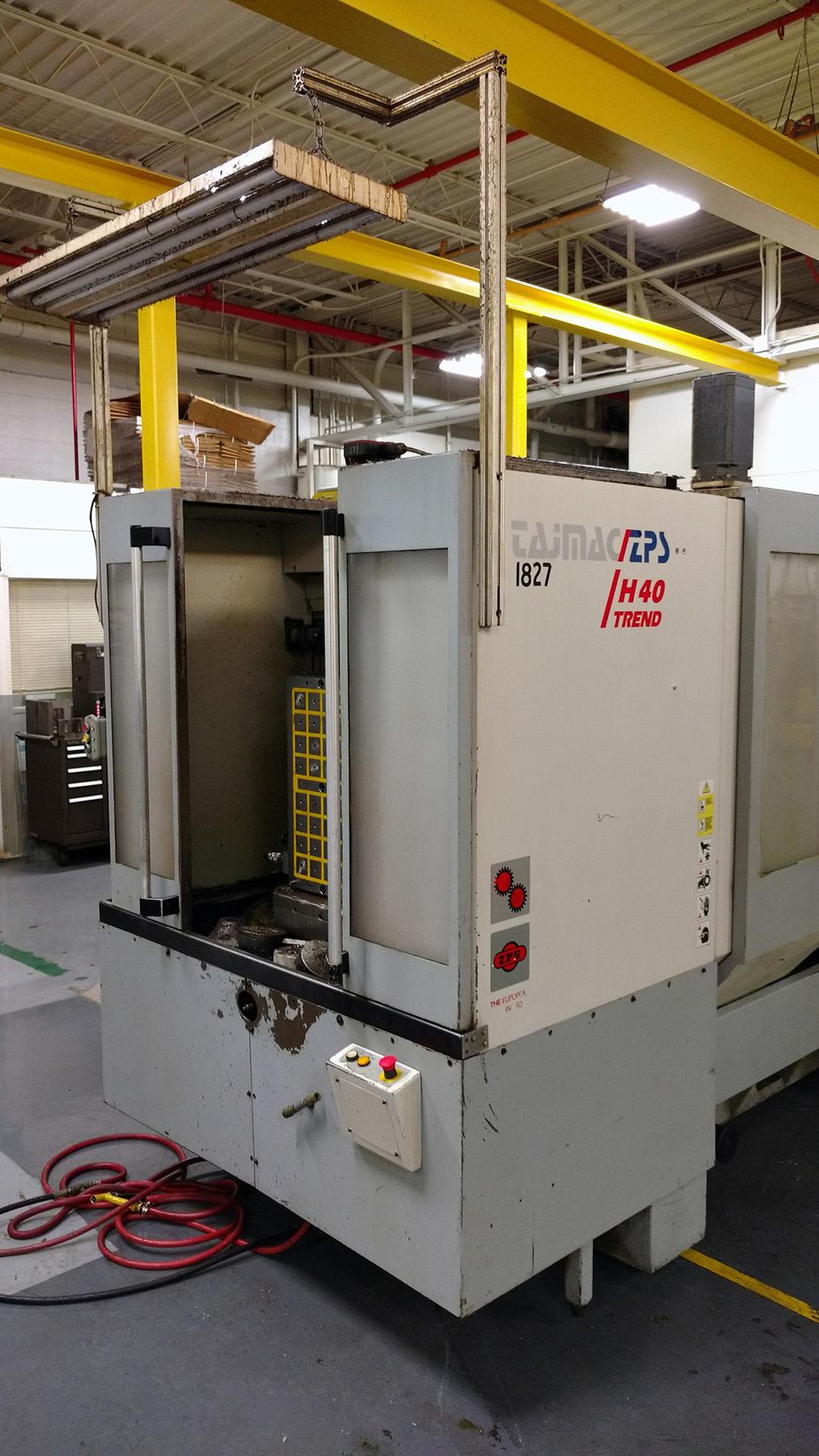 USED, TAJMAC - ZPS H40 TREND CNC HORIZONTAL MACHINING CENTER