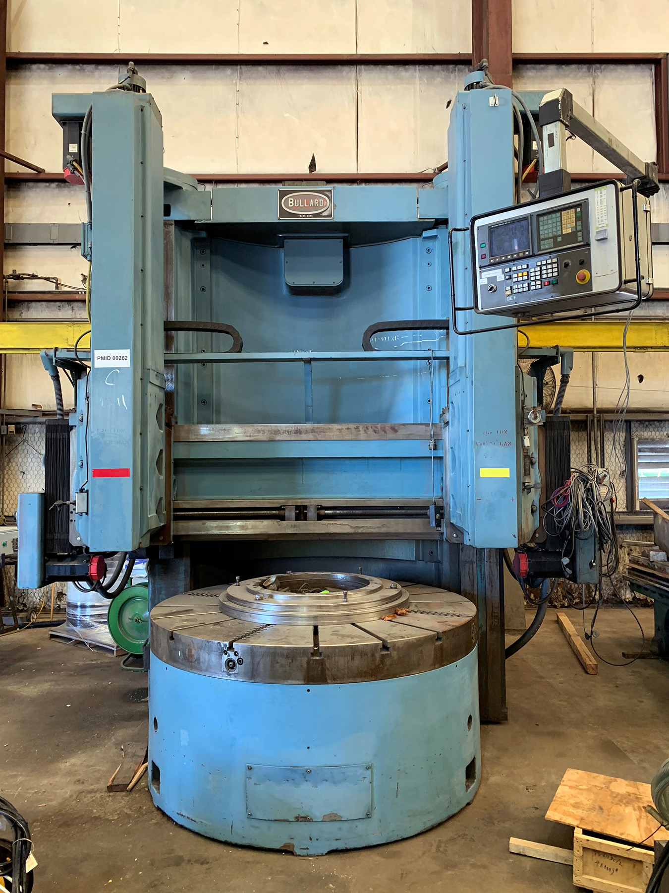 "USED, 76"" BULLARD 4-AXIS CNC VERTICAL BORING MILL"
