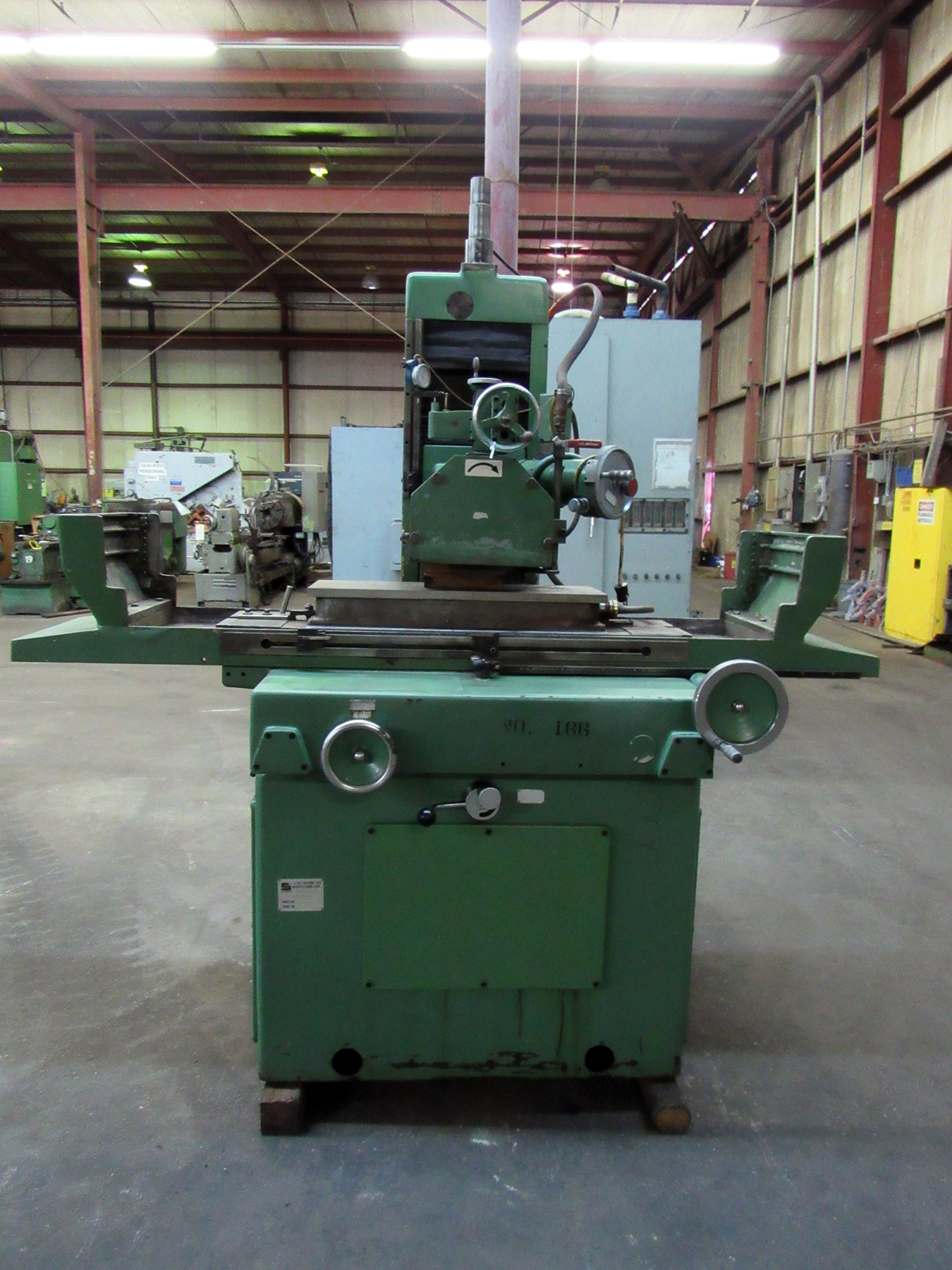 """USED, 12"""" X 30"""" SUMMIT RECIPROCATING TABLE SURFACE GRINDER WITH POWER DOWNFEED"""