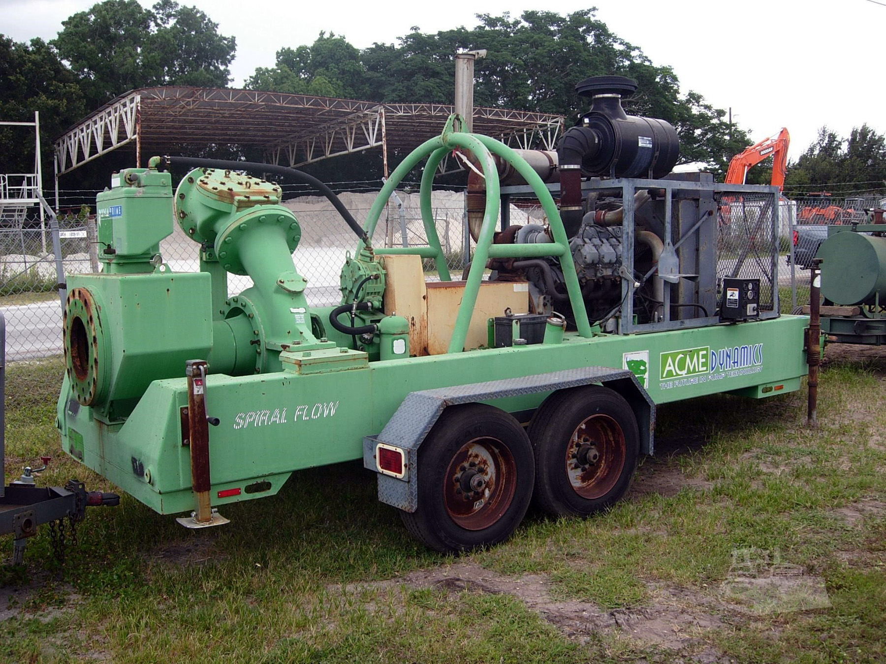 USED, ACME DYNAMICS MODEL SF300 PUMP