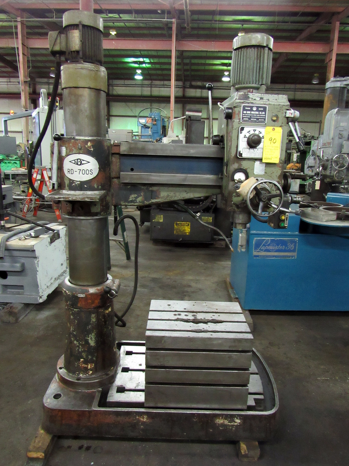 USED, KAO MING MODEL RD-700DS RADIAL ARM DRILL