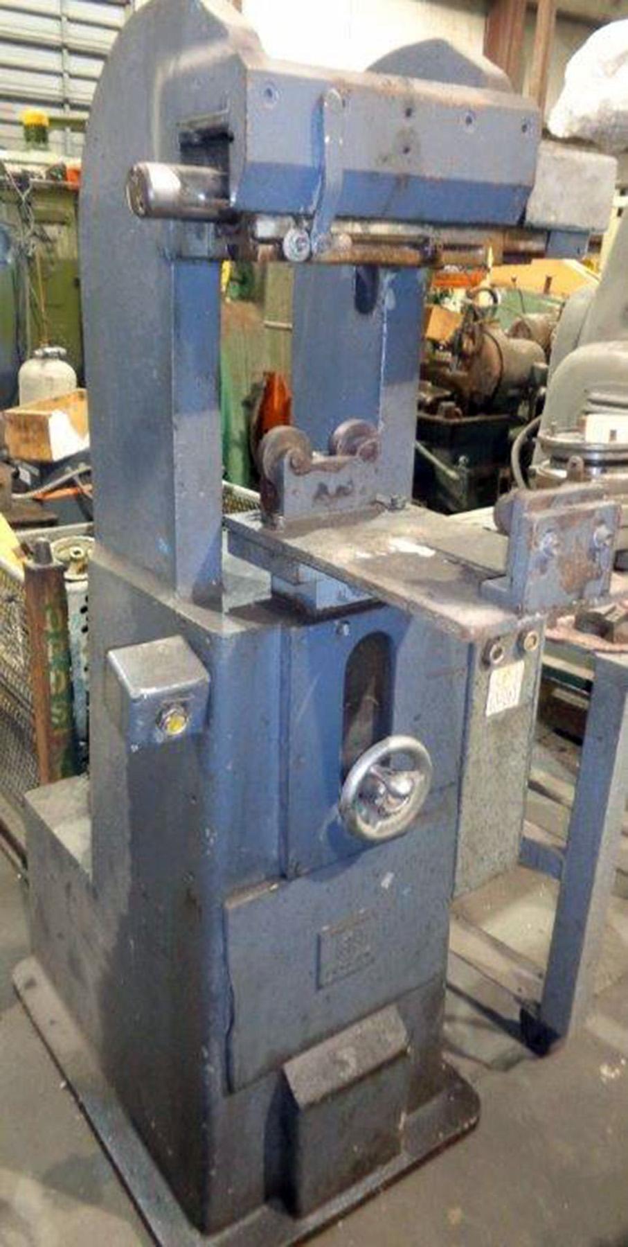 USED, SCHMIDT MODEL 175-5 HYDRAULIC ROLL MARKING MACHINE