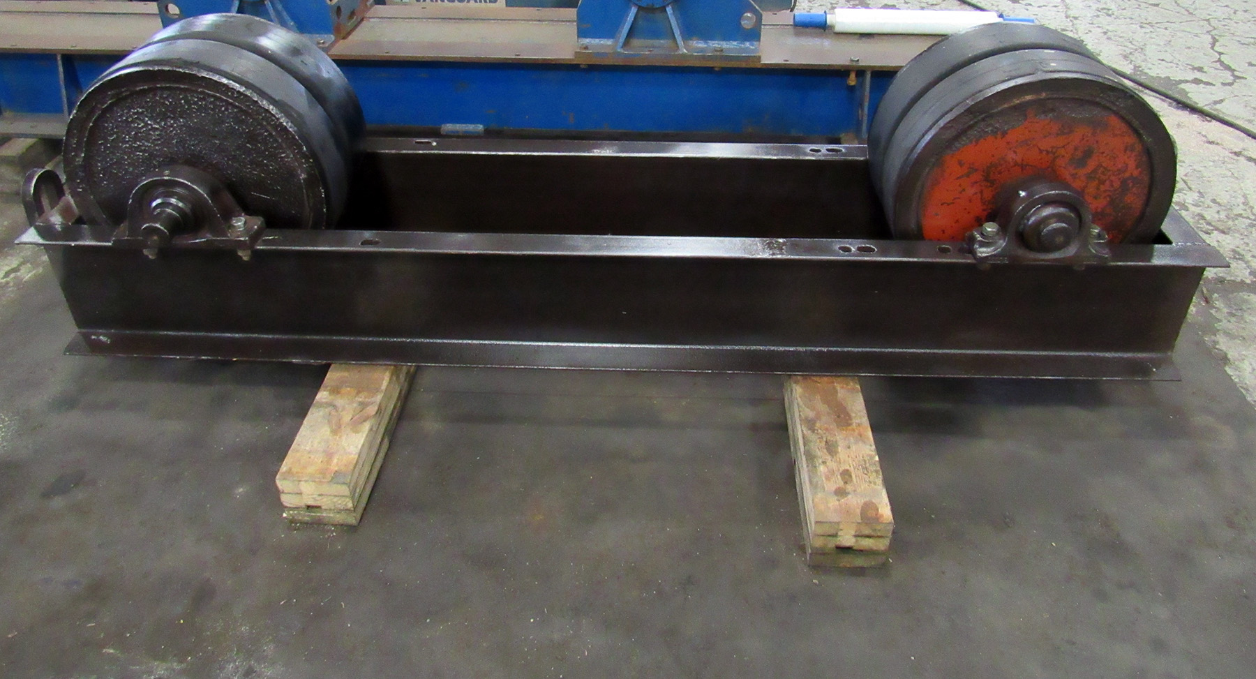 USED, 90 TON WELDING TURNING ROLLS (IDLER UNIT ONLY)