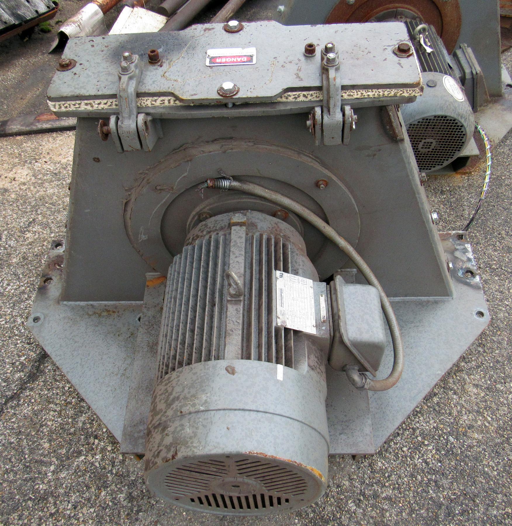 USED, 20 HP PANGBORN RIM-LOC 265DD-2 ROTOBLAST SHOT BLAST MOTOR