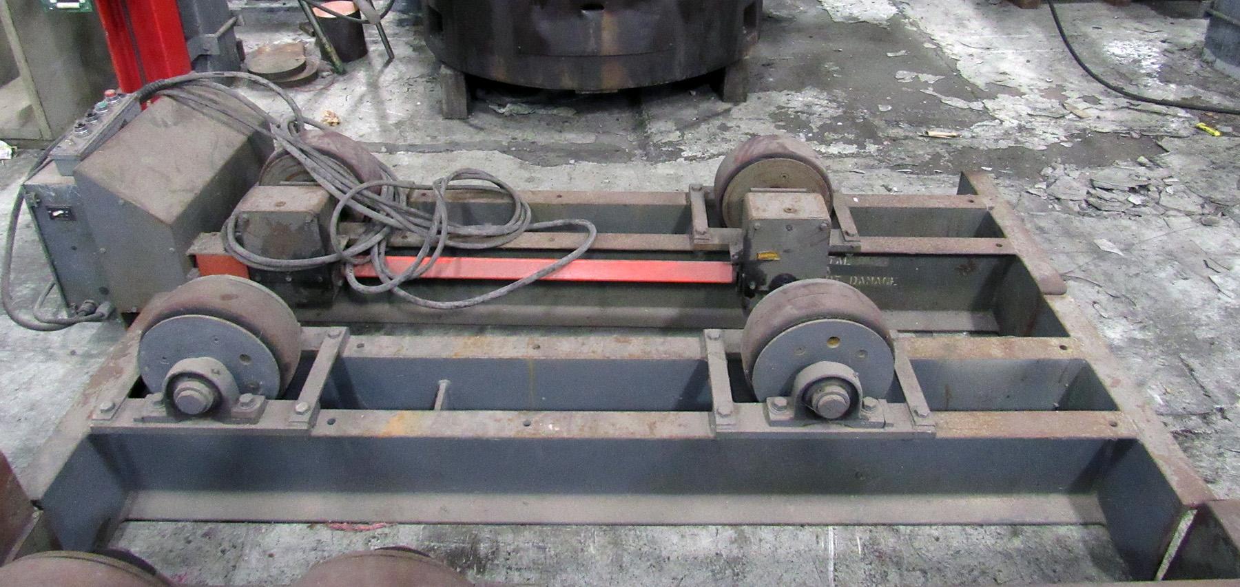 USED, 10 TON PRESTON-EASTIN MODEL TDRA10HD/TIRO10HD WELDING TURNING ROLLS