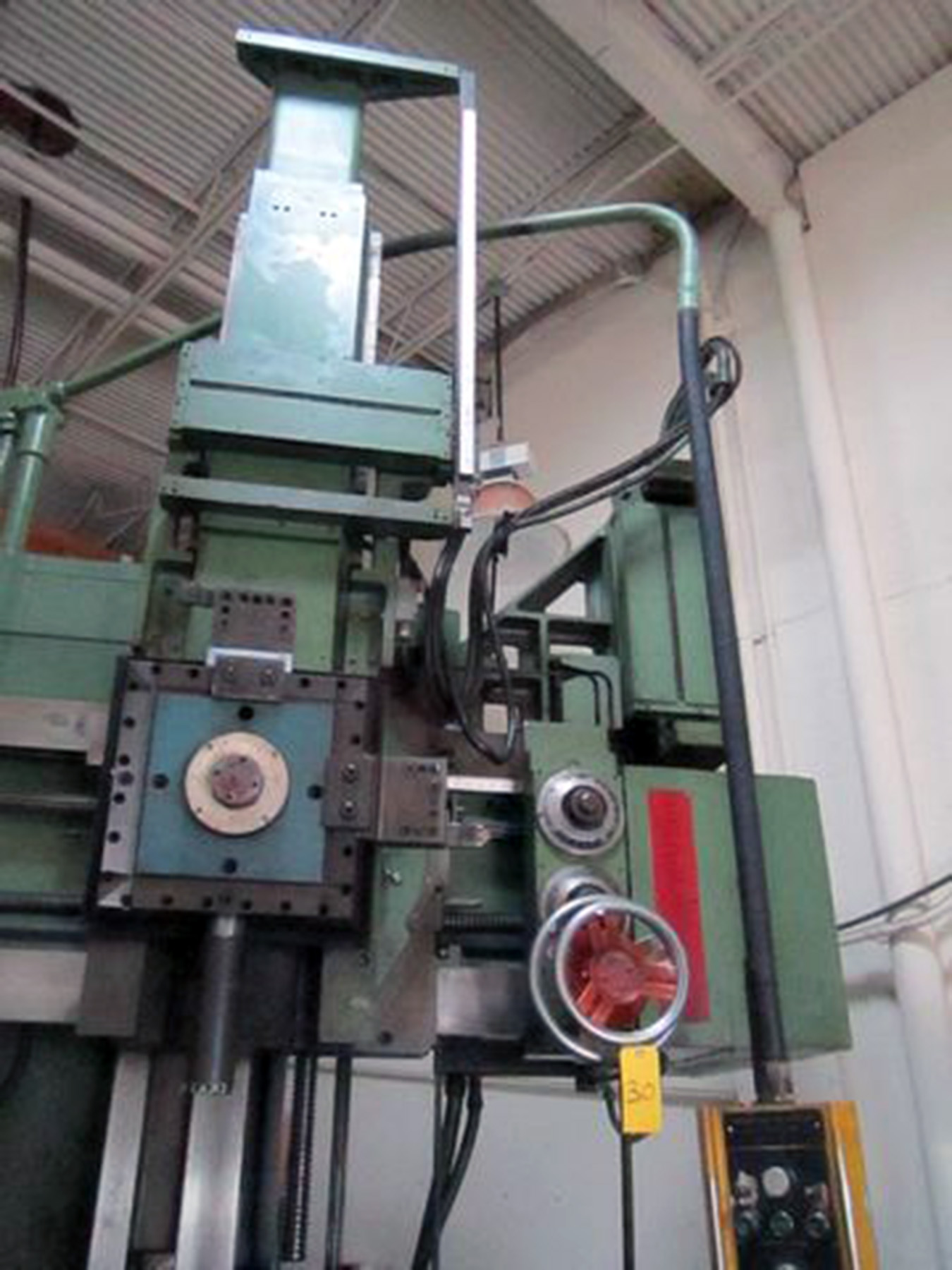 "USED, 48"" KING MODEL 1872 VERTICAL TURRET LATHE"
