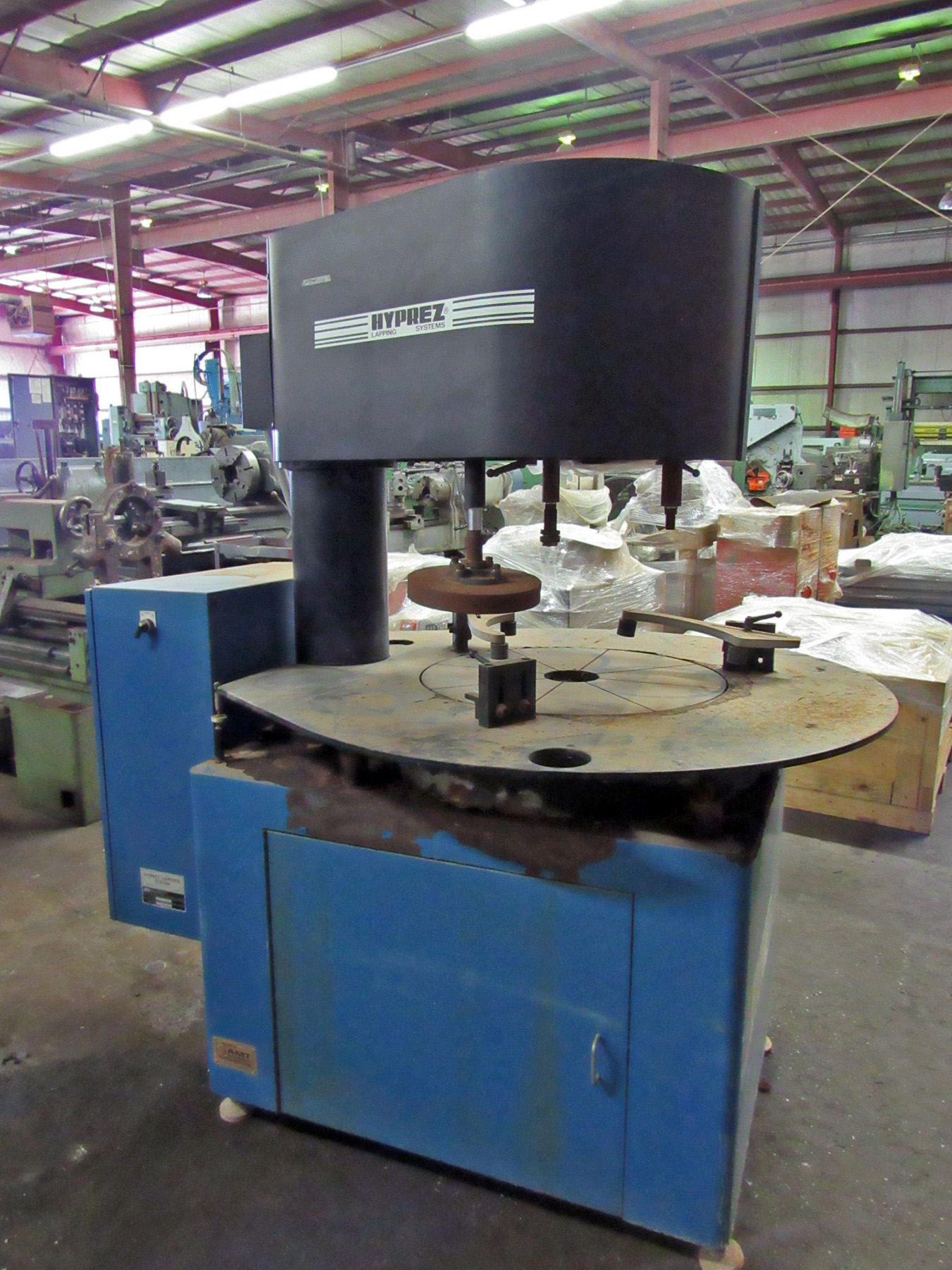 USED, ENGIS HYPREZ MODEL 24LM230VP LAPPING MACHINE