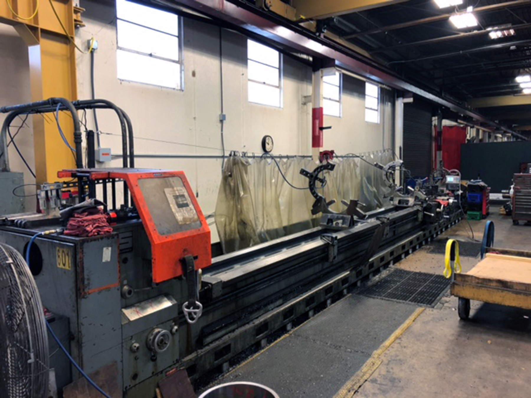 "USED, 36"" X 400"" SUMMIT ENGINE LATHE"