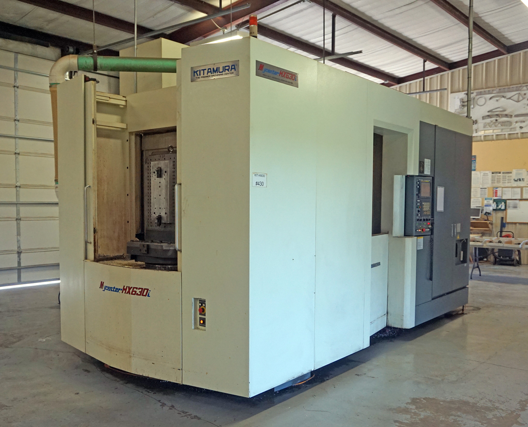 USED, KITAMURA HX-630i CNC HORIZONTAL MACHINING CENTER