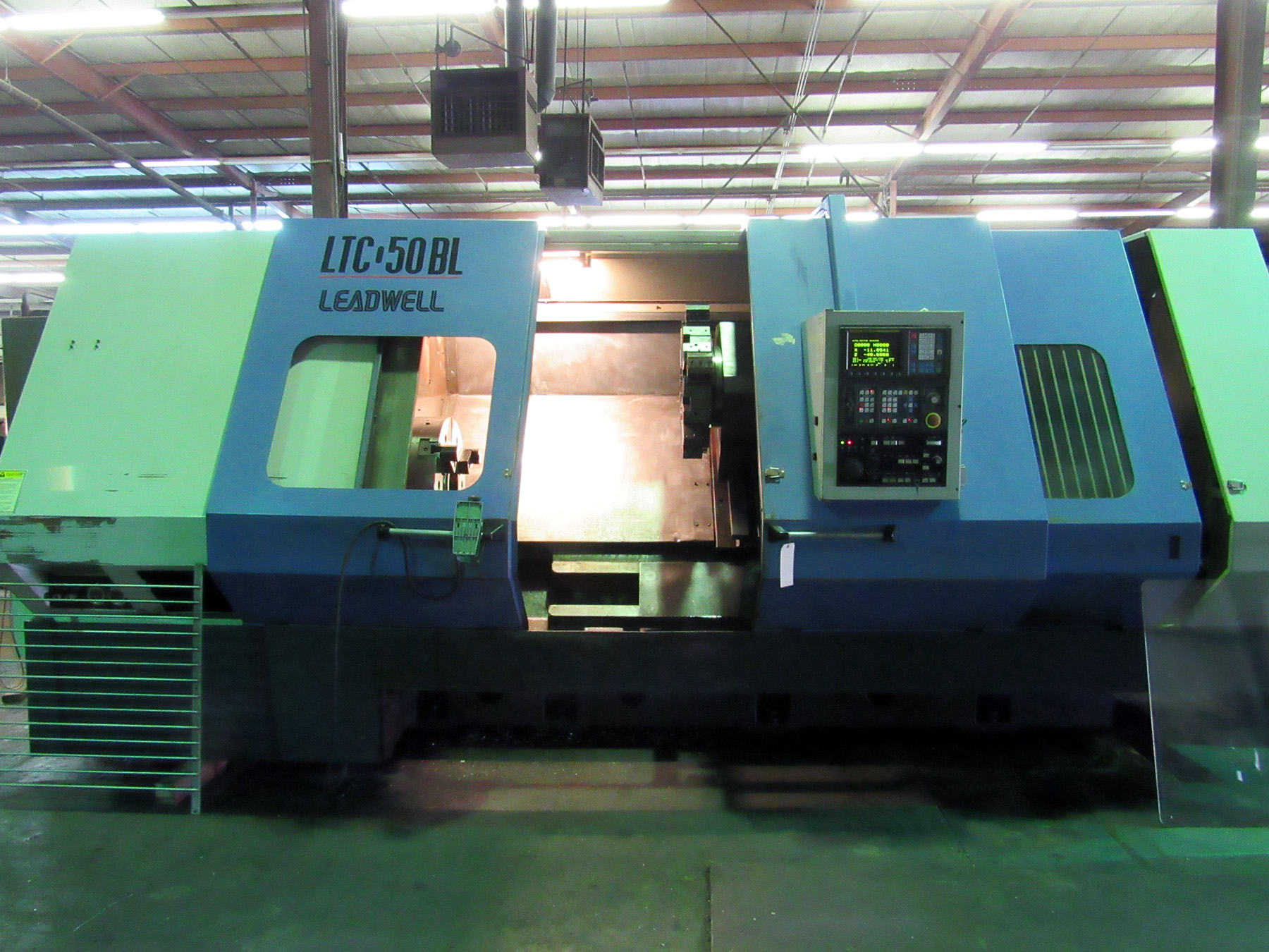 USED, LEADWELL MODEL LTC-50 BL CNC LATHE