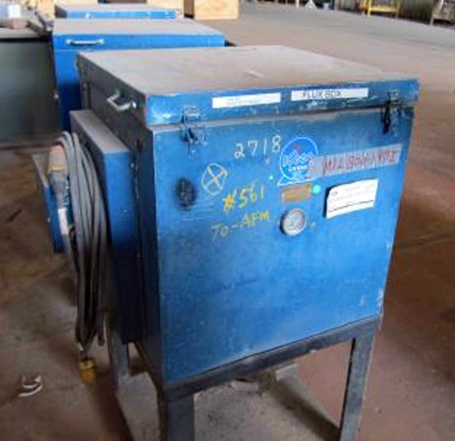 USED, KEEN MODEL KF-300 SUBARC FLUX HOLDING OVEN