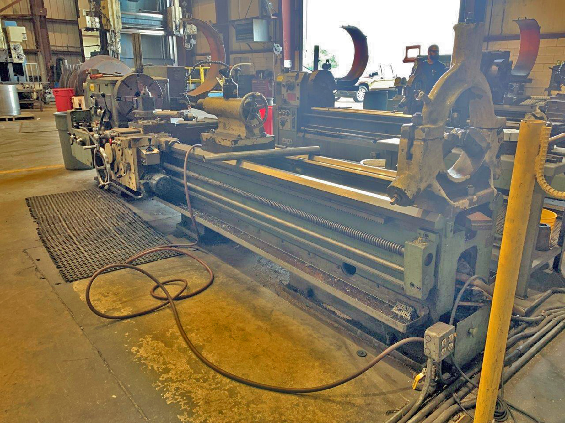 "USED, 26"" X 120"" RYAZAN ENGINE LATHE"