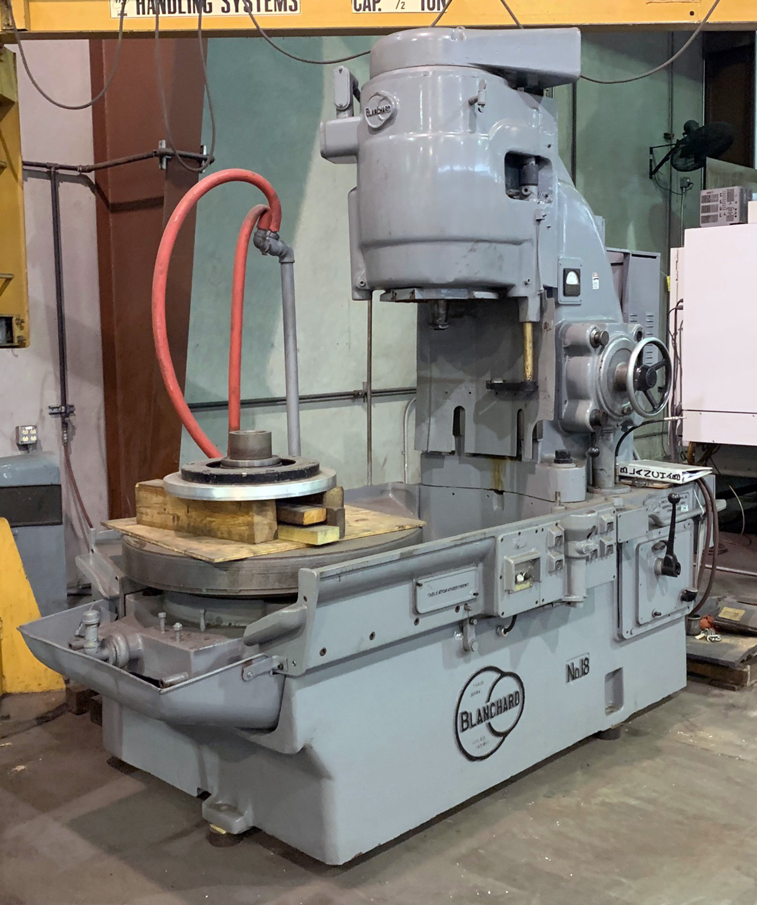 "USED, 36"" BLANCHARD MODEL 18-36 ROTARY SURFACE GRINDER"